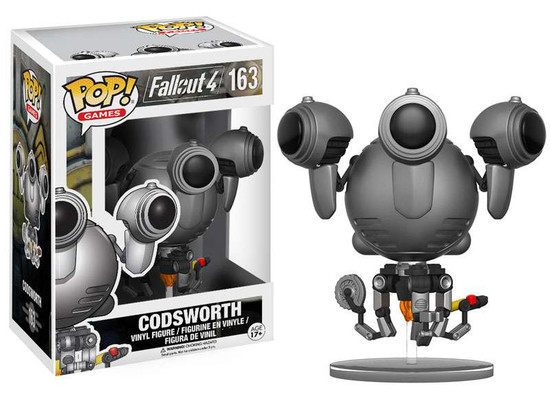 Funko Fallout 4 POP! Games Codsworth Vinyl Figure #163