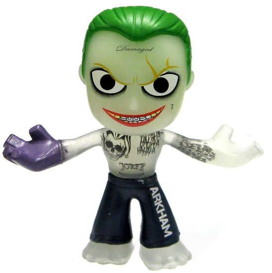 Funko Suicide Squad Mystery Minis The Joker Exclusive 1/12 Mystery Minifigure [Glow in the Dark Shirtless Loose]