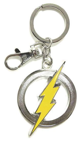 DC The Flash Logo Pewter Key Ring
