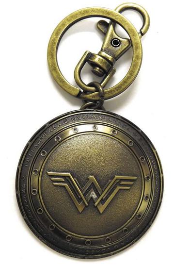 DC Batman V Superman Wonder Woman's Shield Pewter Key Ring
