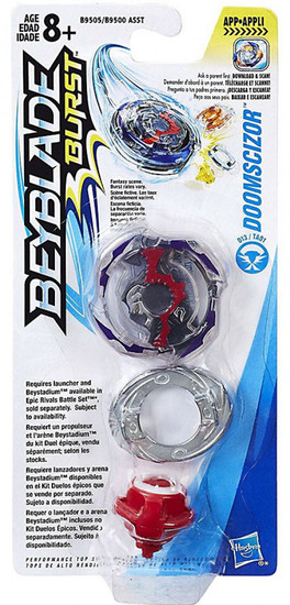 Beyblade Burst Doomscizor D1 Single Top