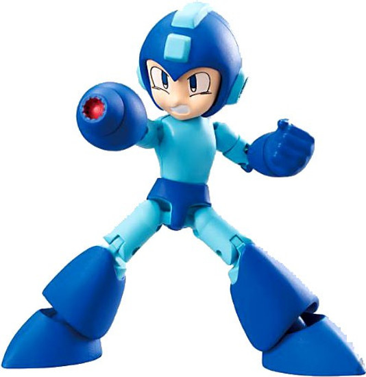 Shokugan 66 Action Series 1 Mega Man 2.6-Inch Trading Figure