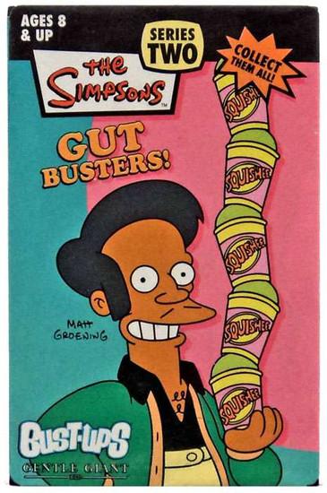 The Simpsons Gut Busters Series 2 Bust Ups Apu Kwik-E-Mart Figure