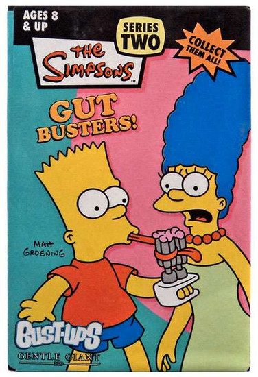 The Simpsons Gut Busters Series 2 Bust Ups Bart & Marge Figure