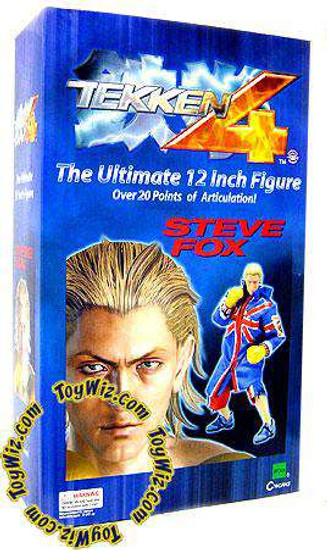 Tekken 4 Steve Fox 12-Inch Collectible Figure [Damaged Package]