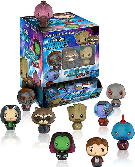 Funko Marvel Pint Size Heroes Guardians of the Galaxy 2 Mystery Box [24 Packs]