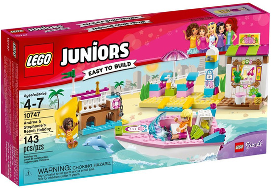 LEGO Juniors Friends Andrea & Stephanie's Beach Holiday Set #10747