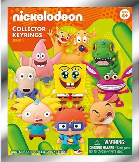 Nickelodeon 3D Figural Keyring Series 1 Mystery Pack [1 RANDOM Figure]