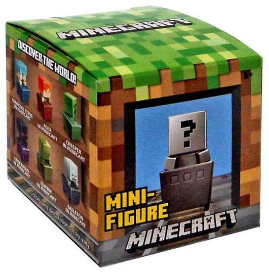 Minecraft Minecart Series 1 Mystery Pack [1 RANDOM Figure]