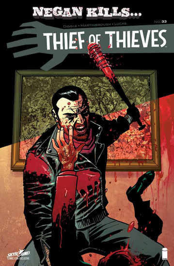 Image Comics Thief of Thieves #33 Skybound Comic-Con Negan Kills... Cover Comic Book