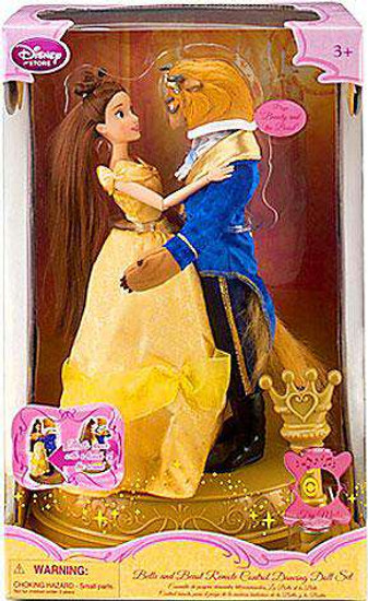 Disney Princess Beauty and the Beast Remote Control Dancing Exclusive 11.5-Inch Doll Set [Damaged Package]