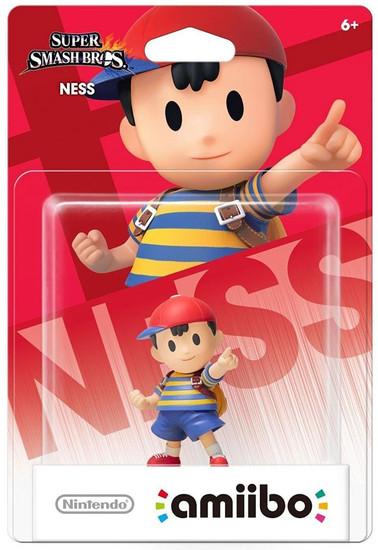 Nintendo Super Smash Bros Amiibo Ness Mini Figure [Regular]