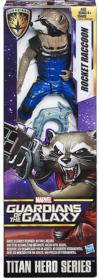 Marvel Guardians of the Galaxy Vol. 2 Titan Hero Series Rocket Raccoon Action Figure