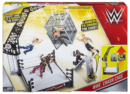 WWE Wrestling Crash Cage Playset [Damaged Package]