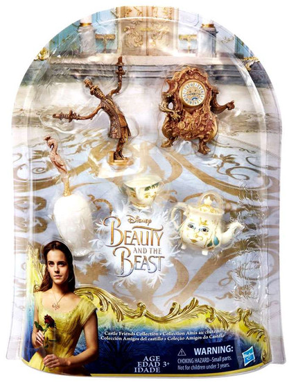 Disney Princess Beauty and the Beast Castle Friends Collection Figure Set