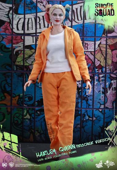 DC Suicide Squad Movie Masterpiece Harley Quinn Collectible Figure [Prisoner Version]
