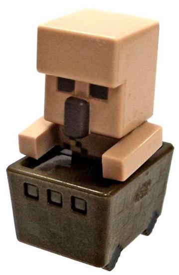 Minecraft Minecart Iron Golem in Cart 1-Inch Mini Figure [Loose]