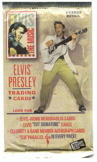 Elvis Presley Elvis: The Music Trading Card Pack