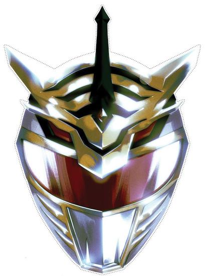 Power Rangers New Ranger Paper Mask