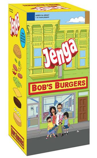 Bob's Burgers Jenga Game