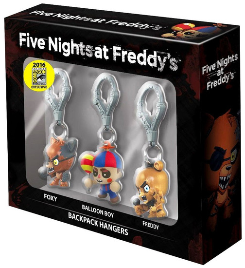Five Nights at Freddy's FNAF Hangers Exclusive 3-Pack