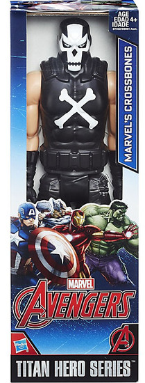 Marvel Avengers Titan Hero Series Crossbones Action Figure