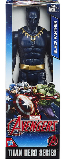 Marvel Avengers Titan Hero Series Black Panther Action Figure [2017]
