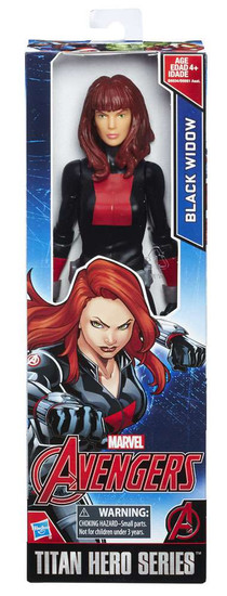Marvel Avengers Titan Hero Series Black Widow Action Figure