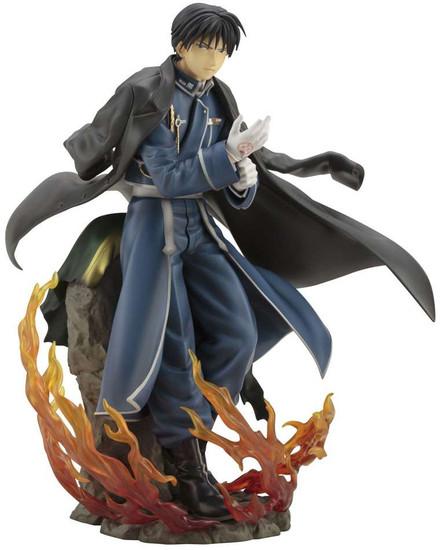 Fullmetal Alchemist Brotherhood ArtFX J Roy Mustang Statue