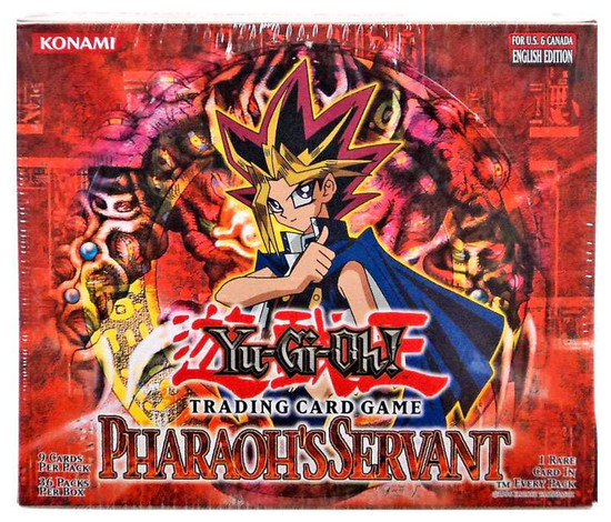 YuGiOh Trading Card Game Pharaoh's Servant (Unlimited) Booster Box [36 Packs]