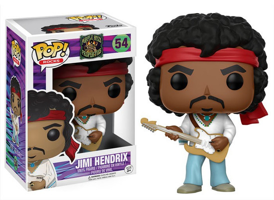 Funko POP! Rocks Jimi Hendrix Vinyl Figure #54 [Woodstock]
