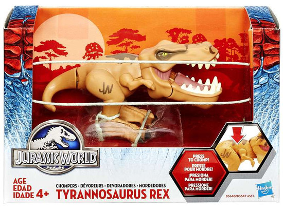 Jurassic World Chompers Tyrannosaurus Rex Figure [Damaged Package]