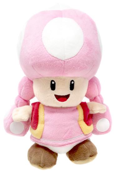 Nintendo Super Mario Toadette 8-Inch Plush