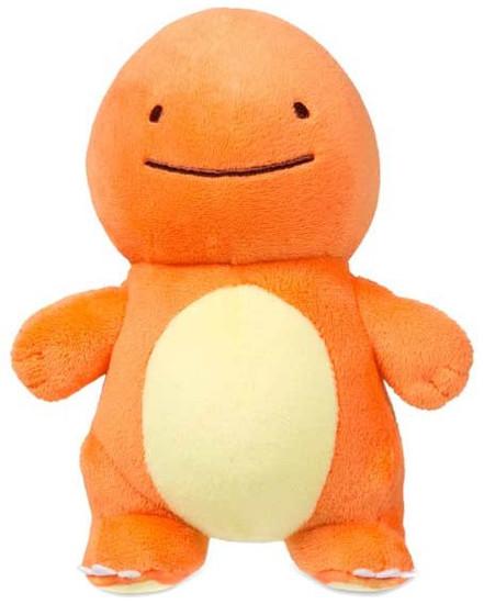 Pokemon Ditto as Charmander Exclusive 6-Inch Plush