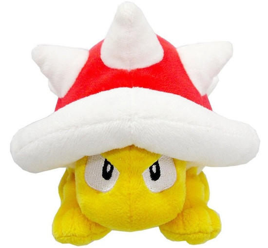 Super Mario Bros Spiny 5'' Plush (Pre-Order ships September)