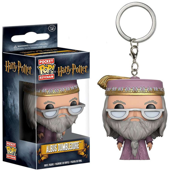 Funko Harry Potter Pocket POP! Movies Albus Dumbledore Keychain