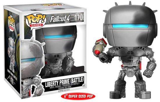 Funko Fallout 4 POP! Games Liberty Prime (Battle) Exclusive 6-Inch Vinyl Figure #170 [Super-Sized]