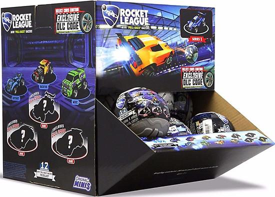 Pullback Racer Rocket League Mystery Box [20 Packs]