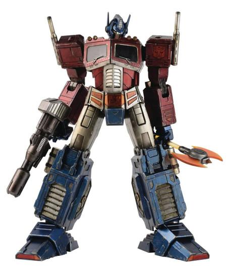 Transformers Optimus Prime Collectible Figure [Classic Edition]