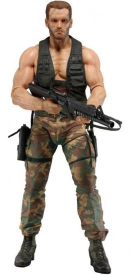 NECA Predator 30th Anniversary Jungle Encounter Dutch Action Figure