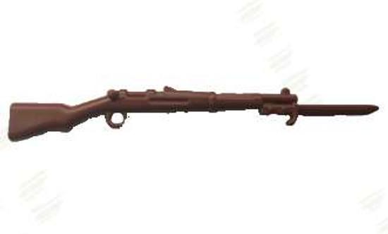 BrickArms Gewehr 98 with Bayonet 2.5-Inch [Brown]
