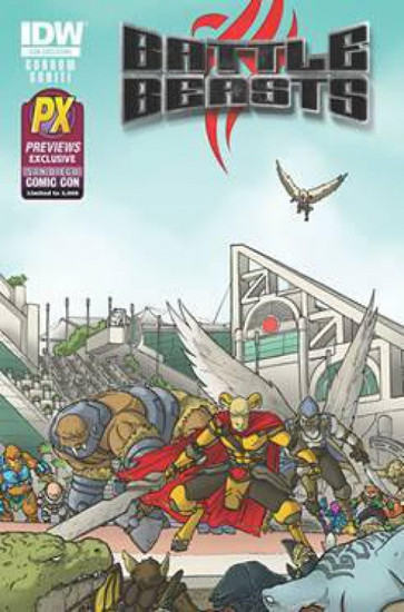 Battle Beasts #1 Exclusive Comic Book