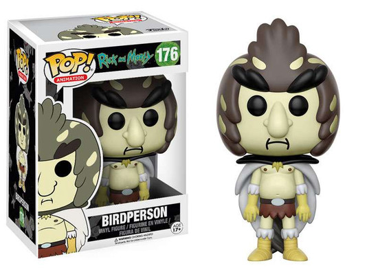 Funko Rick & Morty POP! Animation Bird Person Vinyl Figure #176
