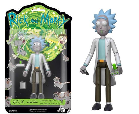 Funko Rick & Morty Rick Action Figure [Build Snowball Part]