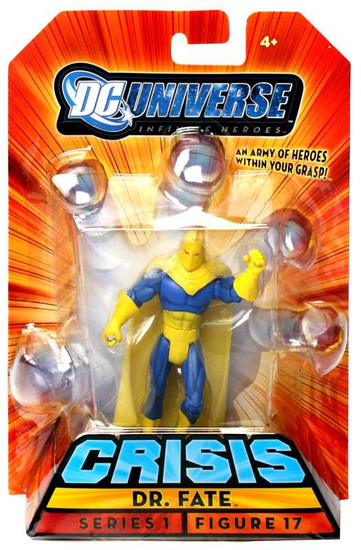 DC Universe Crisis Infinite Heroes Series 1 Dr. Fate Action Figure #17