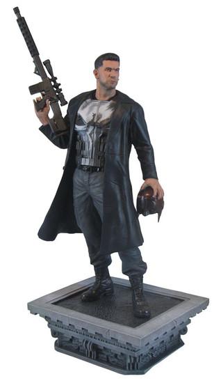 Marvel Gallery Punisher PVC Figure Statue [Netflix Version]