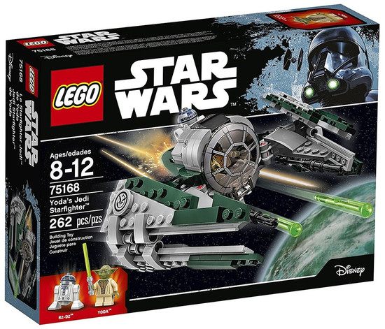 LEGO Star Wars Yoda's Jedi Starfighter Set #75168
