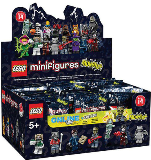 LEGO Minifigures Series 14 Monsters Mystery Box [60 Packs]
