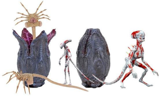NECA Series 1 Alien Covenant 7-Inch Creature Accessory Pack