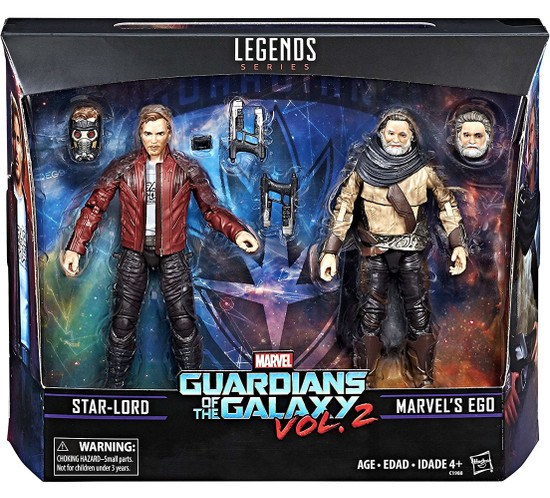 Marvel Guardians of the Galaxy Vol. 2 Ego & Star-Lord Action Figure 2-Pack